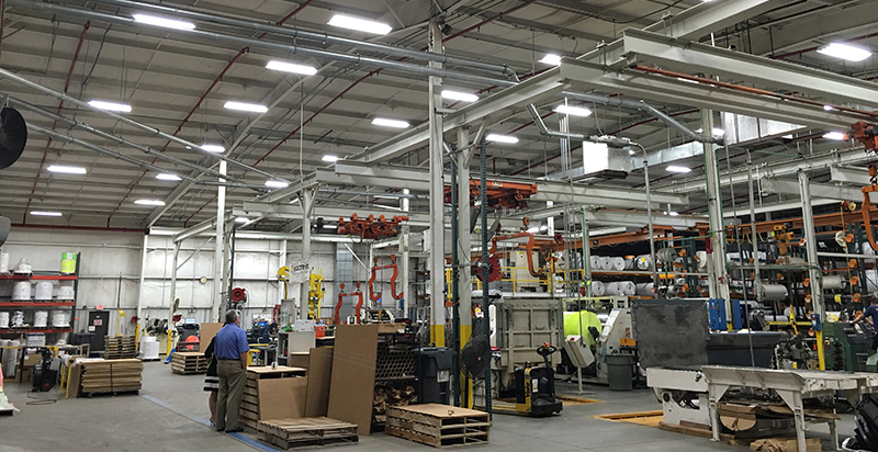 How Led Lighting Affects Manufacturing Productivity